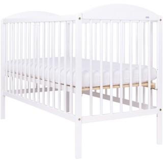 Детская кроватка Kuba II белая 120x60cm