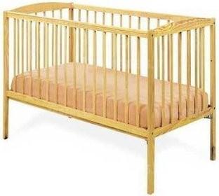 Детская кровать Kuba сосна 120x60cм