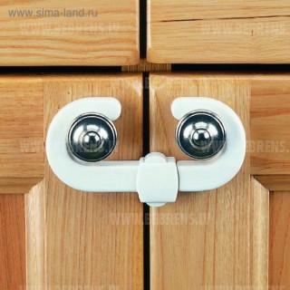 CLIPPASAFE 72/1 Cabinet Slide Locks блокирующий замок для шкафов с ручками (2шт.), CL721