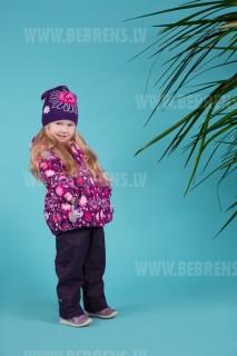 Kokvilnas cepure meiteņu art.18285 MIINE