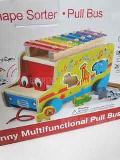 Rotaļlieta šķirotājs Autobuss 09677
