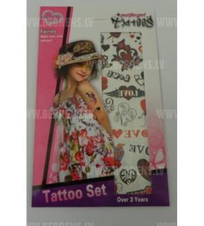 Uzlīmes-tatū GIRL TA8100-36