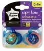 Tommee Tippee ночная пустышка Night Time 43336103