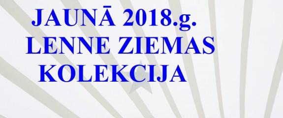 JAUNUMS! LENNE 2018.gada ZIEMAS KOLEKCIJA